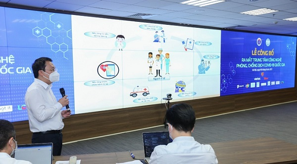 Chính thức ra mắt Trung tâm Công nghệ phòng, chống dịch COVID-19  quốc gia.