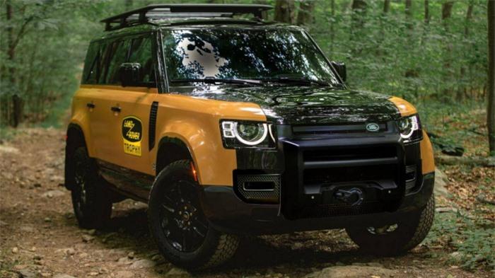 Cận cảnh Land Rover Defender Trophy đậm chất phiêu lưu 1