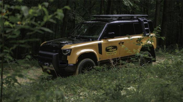 Cận cảnh Land Rover Defender Trophy đậm chất phiêu lưu 10