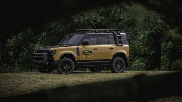 Cận cảnh Land Rover Defender Trophy đậm chất phiêu lưu 2