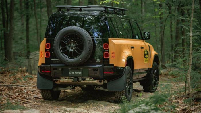 Cận cảnh Land Rover Defender Trophy đậm chất phiêu lưu 3