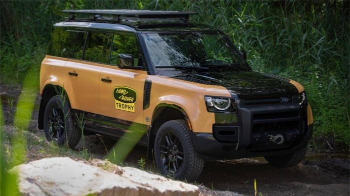 Cận cảnh Land Rover Defender Trophy đậm chất phiêu lưu 4