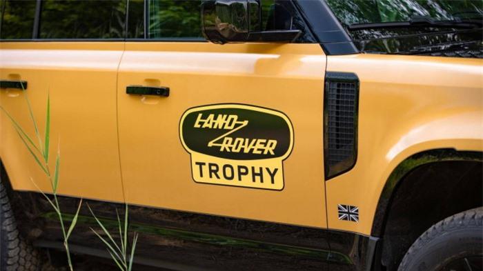 Cận cảnh Land Rover Defender Trophy đậm chất phiêu lưu 7