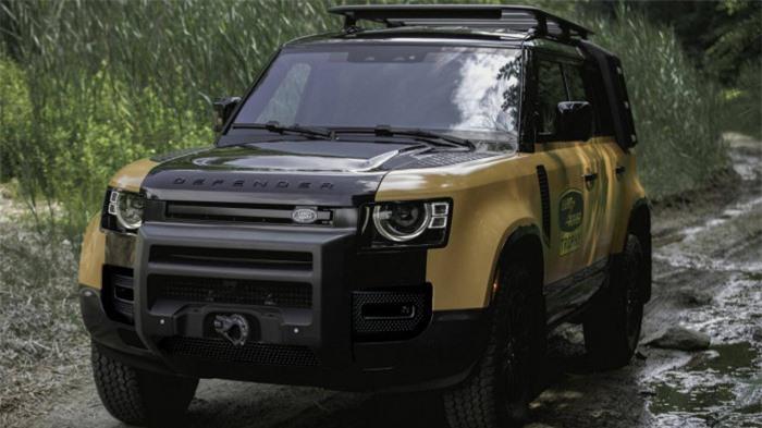 Cận cảnh Land Rover Defender Trophy đậm chất phiêu lưu 9