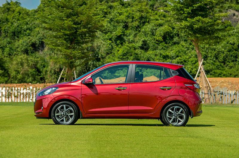 Hyundai Grand i10 Hatchback 2021. Ảnh: TC Motor.