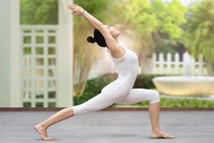 Tập thể dục giúp cải thiện tình trạng đau bụng kinh.