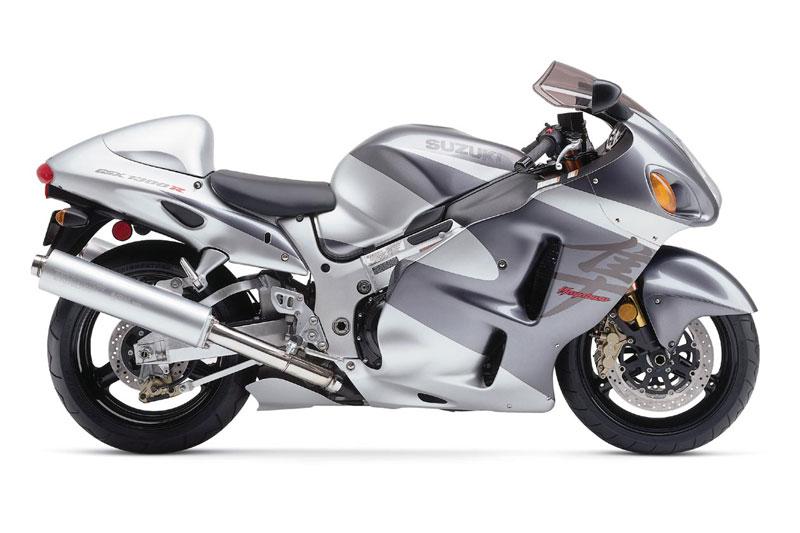 2. Suzuki Hayabusa 2002 (thời gian tăng tốc từ 0-96 km/h: 2,47 giây).