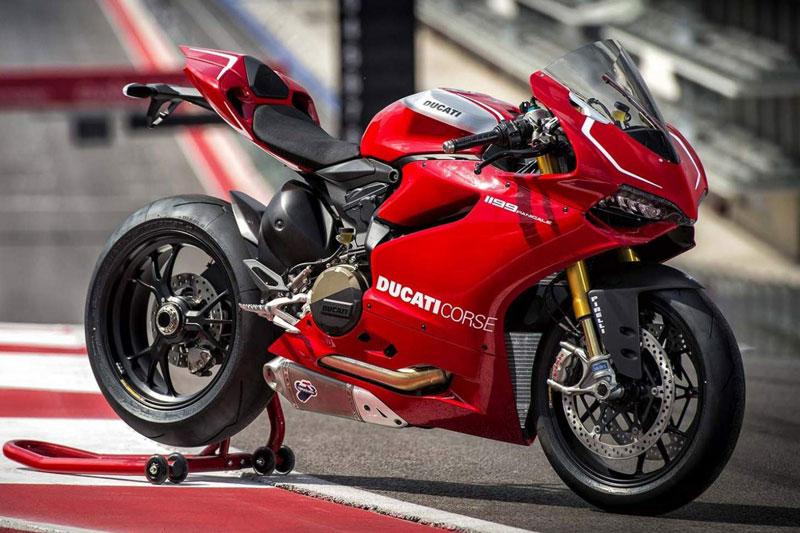 =6. Ducati 1199 Panigale (thời gian tăng tốc từ 0-96 km/h: 2,6 giây).