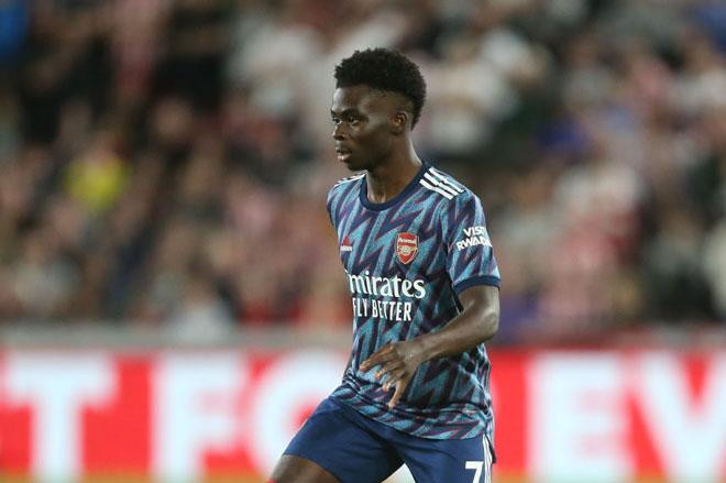 7. Bukayo Saka (Arsenal, 19 tuổi).