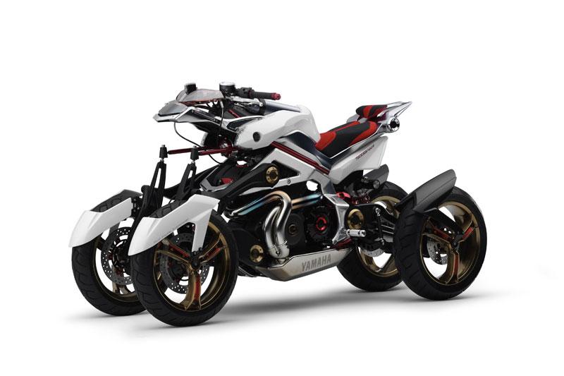 8. Yamaha Tesseract.