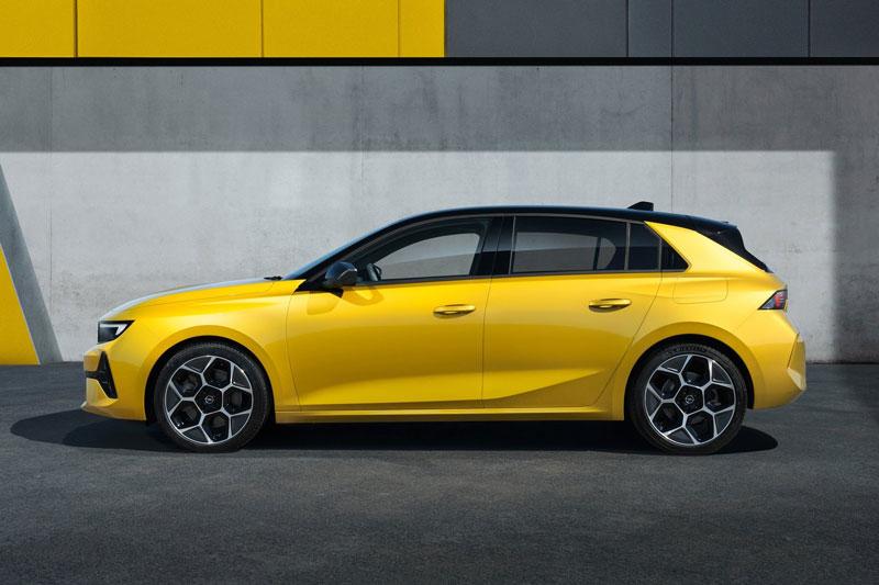 10. Opel Astra.