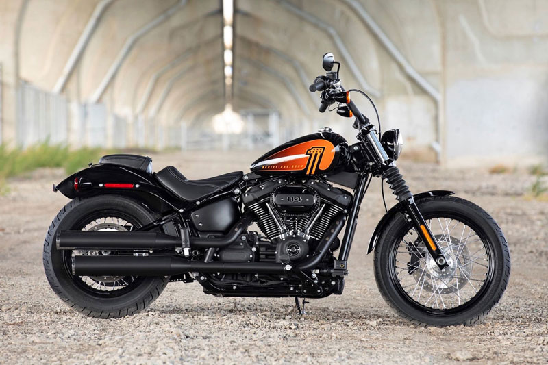 2. Harley-Davidson Street Bob 114.