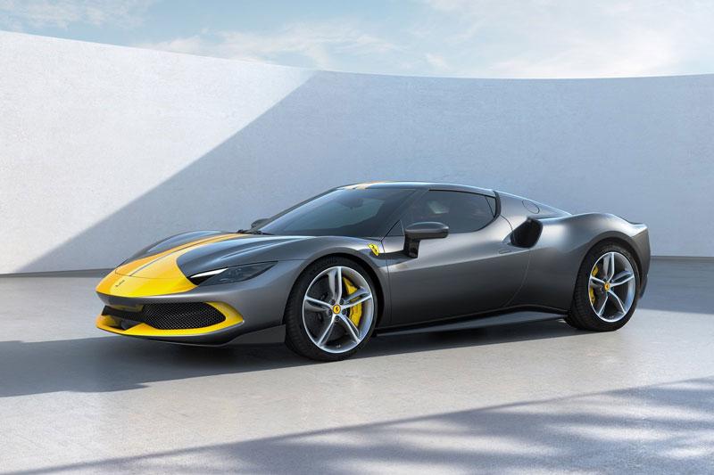4. Ferrari GTB 296.