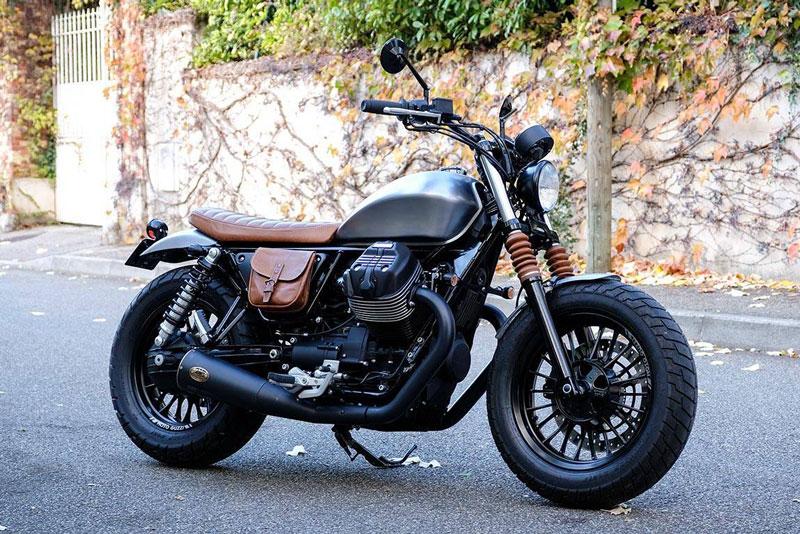 5. Moto Guzzi V9.