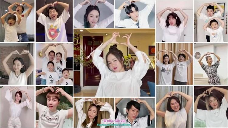 Nhiều nghệ sĩ Việt cùng tham gia diễn xuất trong MV của dự án này
