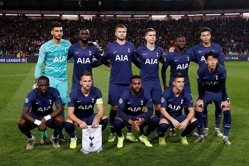 10. Tottenham - Giá trị thị trường: 694 triệu euro.
