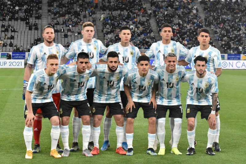 7. Argentina - Giá trị thị trường: 739,5 triệu euro.