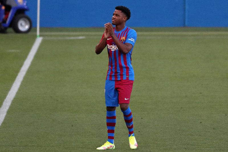 4. Ansu Fati (Barcelona, 18 tuổi, định giá chuyển nhượng: 60 triệu euro).