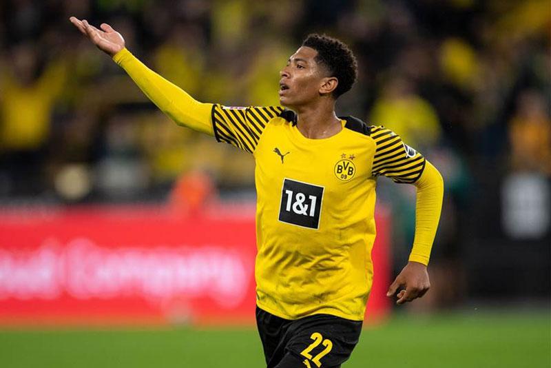 =5. Jude Bellingham (Borussia Dortmund, 18 tuổi, định giá chuyển nhượng: 55 triệu euro).