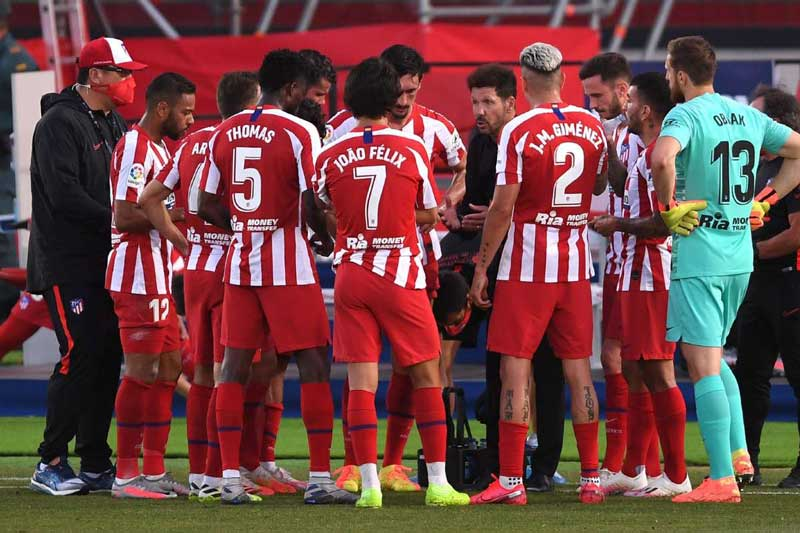 8. Atletico Madrid - Giá trị thị trường: 744,9 triệu euro.
