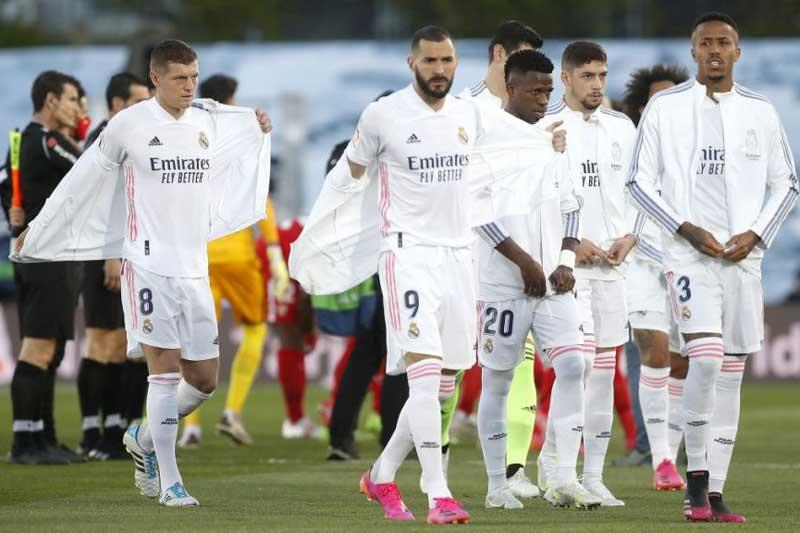 9. Real Madrid - Giá trị thị trường: 728,5 triệu euro.