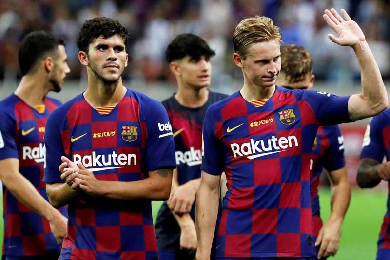 7. Barcelona - Giá trị thị trường: 766,7 triệu euro.