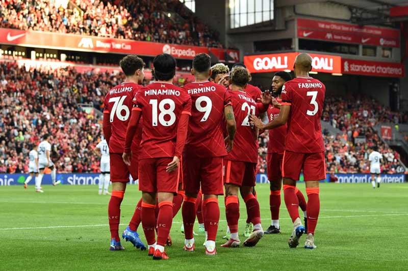 4. Liverpool - Giá trị thị trường: 887,5 triệu euro.