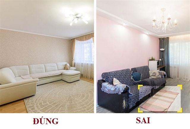 8 sai lầm về nội thất khiến nhà diện tích nhỏ càng thêm chật chội - Ảnh 1.