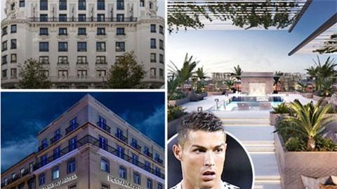 Ronaldo khai trương khách sạn tại Manchester vào năm 2023