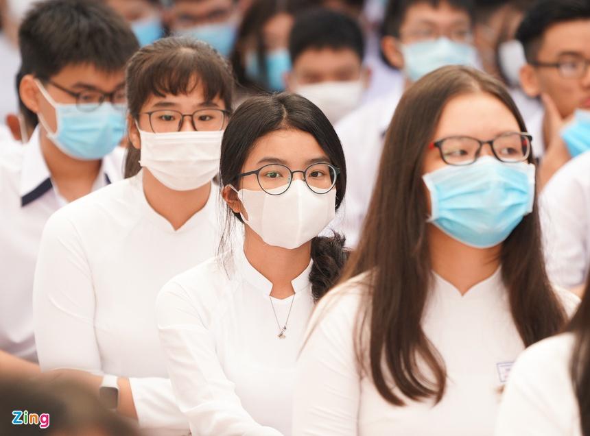 Thông tư 22 của Bộ Giáo dục và Đào tạo đã chính thức bỏ danh hiệu học sinh tiên tiến ở hai cấp học THCS và THPT. Ảnh: Chí Hùng.