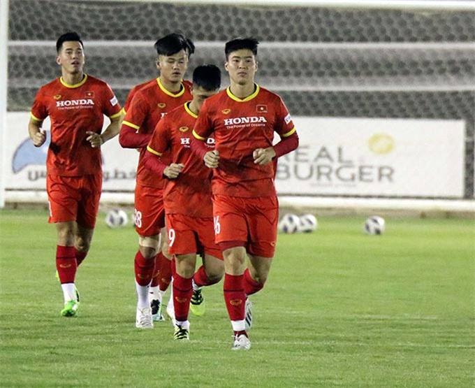 ĐT Việt Nam bắt đầu chia các nhóm chính, phụ để xác định đội hình tối ưu đấu Saudi Arabia