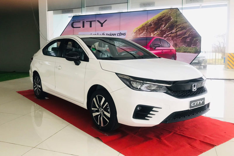 Honda City 2021. Ảnh: Honda Ô tô Quảng Bình.