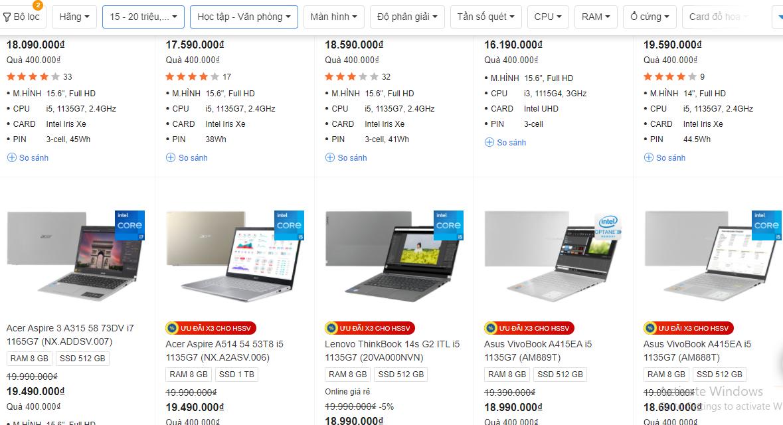 Máy tính giá rẻ khan hiếm.