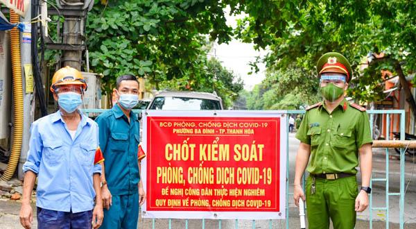 Giãn cách 7 ngày theo Chỉ thị 16 với TP Thanh Hóa bắt đầu từ ngày 02/9/2021.