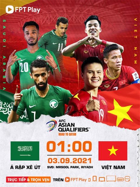 Trận đấu đầu tiên của tuyển Việt Nam sẽ là chuyến làm khách trên sân của Arab Saudi.