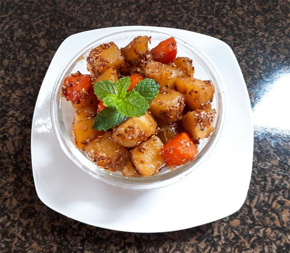 Cách làm món khoai tây kho chay thơm ngon hấp dẫn