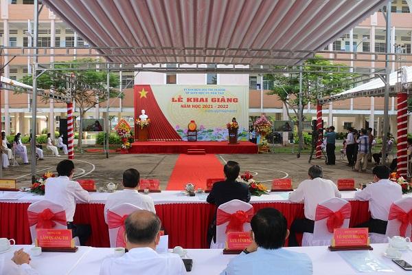 Sáng 5/9, An Giang tổ chức buổi lễ khai giảng bằng hình thức trực tuyến.