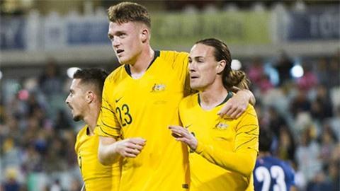 Hiệu suất ghi bàn siêu hạng hơn cả tiền đạo của trung vệ 'cao kều' ở ĐT Australia
