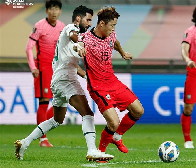 Hàn Quốc đã chiến thắng mệt nhoài