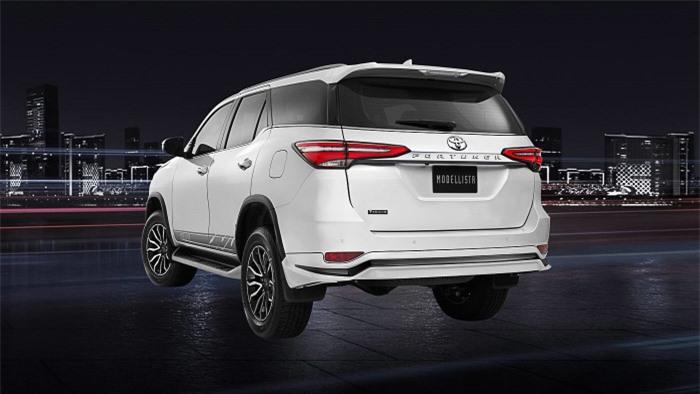 Cận cảnh Toyota Fortuner cao cấp và hầm hố với bản độ cao cấp 10