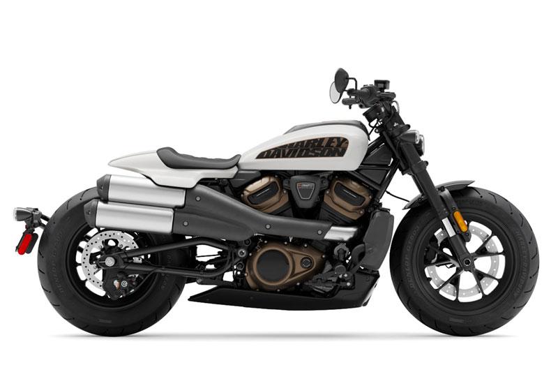 10. Harley-Davidson Sportster S.