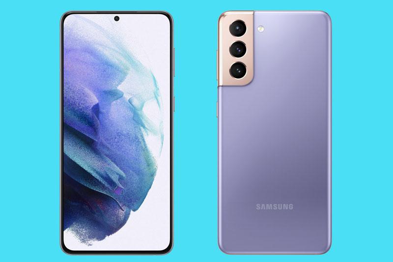 7. Samsung Galaxy S21 (thời gian sử dụng: 9 giờ 53 phút).