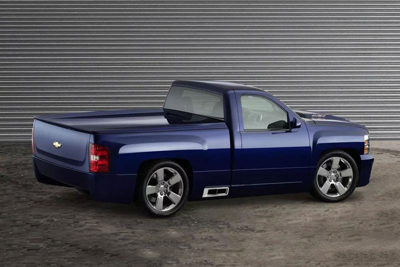 10. Chevrolet Silverado 427.