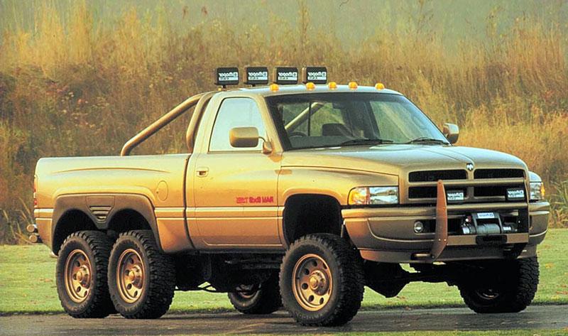7. Dodge T-Rex.