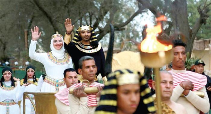 Đám cưới theo nghi lễ Pharaonic của người Ai Cập cổ đại