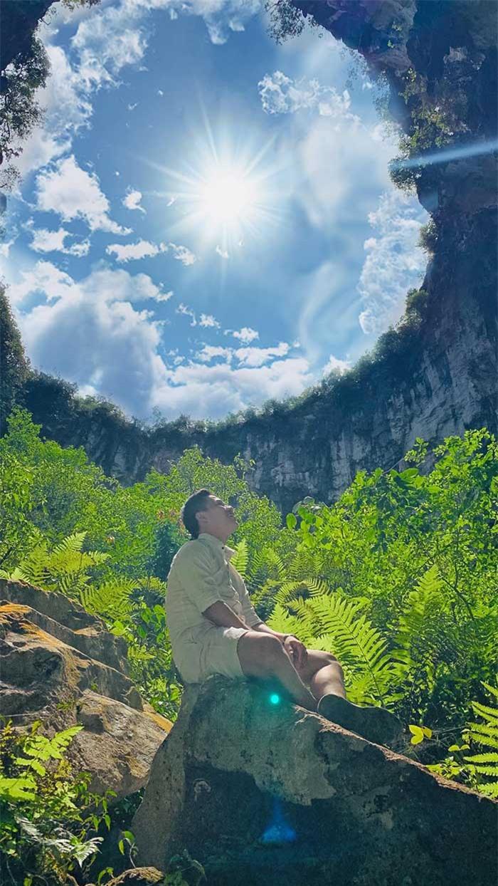 Khám phá vùng đất hoang sơ như thời tiền sử trong hố sụt Mèo Vạc – Hà Giang, phiên bản mini của kì quan hang động Sơn Đoòng - Ảnh 3.