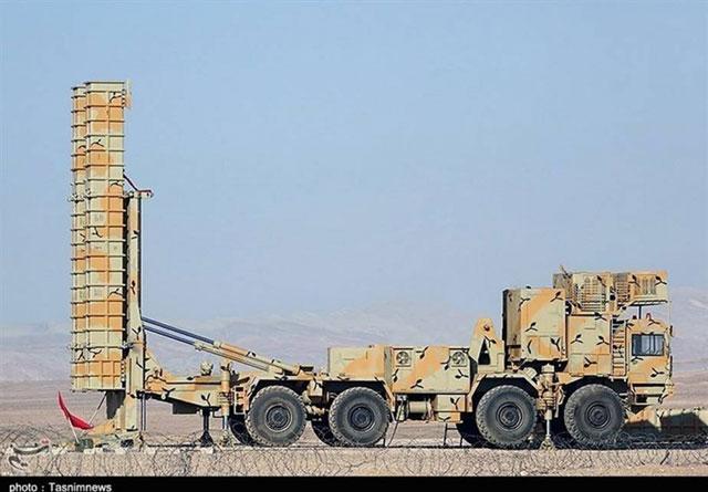 Hệ thống Bavar-373 của Iran. Ảnh: Tasnim