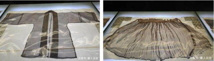 1 trong 354 lớp y phục của nữ chủ nhân ngôi mộ. Hình ảnh: Baijiahao