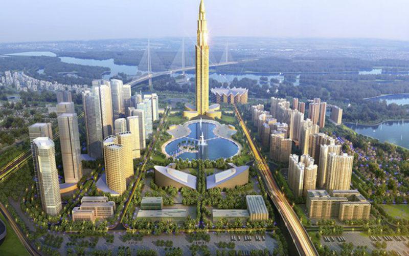 dự án Khu Đô thị Thông minh Truyền thông trong Khu đô thị mới An Vân Dương