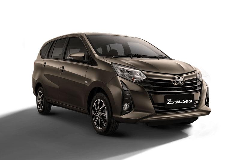 8. Toyota Calya (doanh số: 19,652 chiếc).